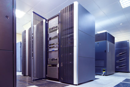 supercomputer clusters in the room data centre